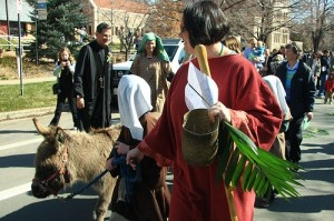 Pine Street Palm Sunday 2010
