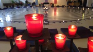 labyrinth candles